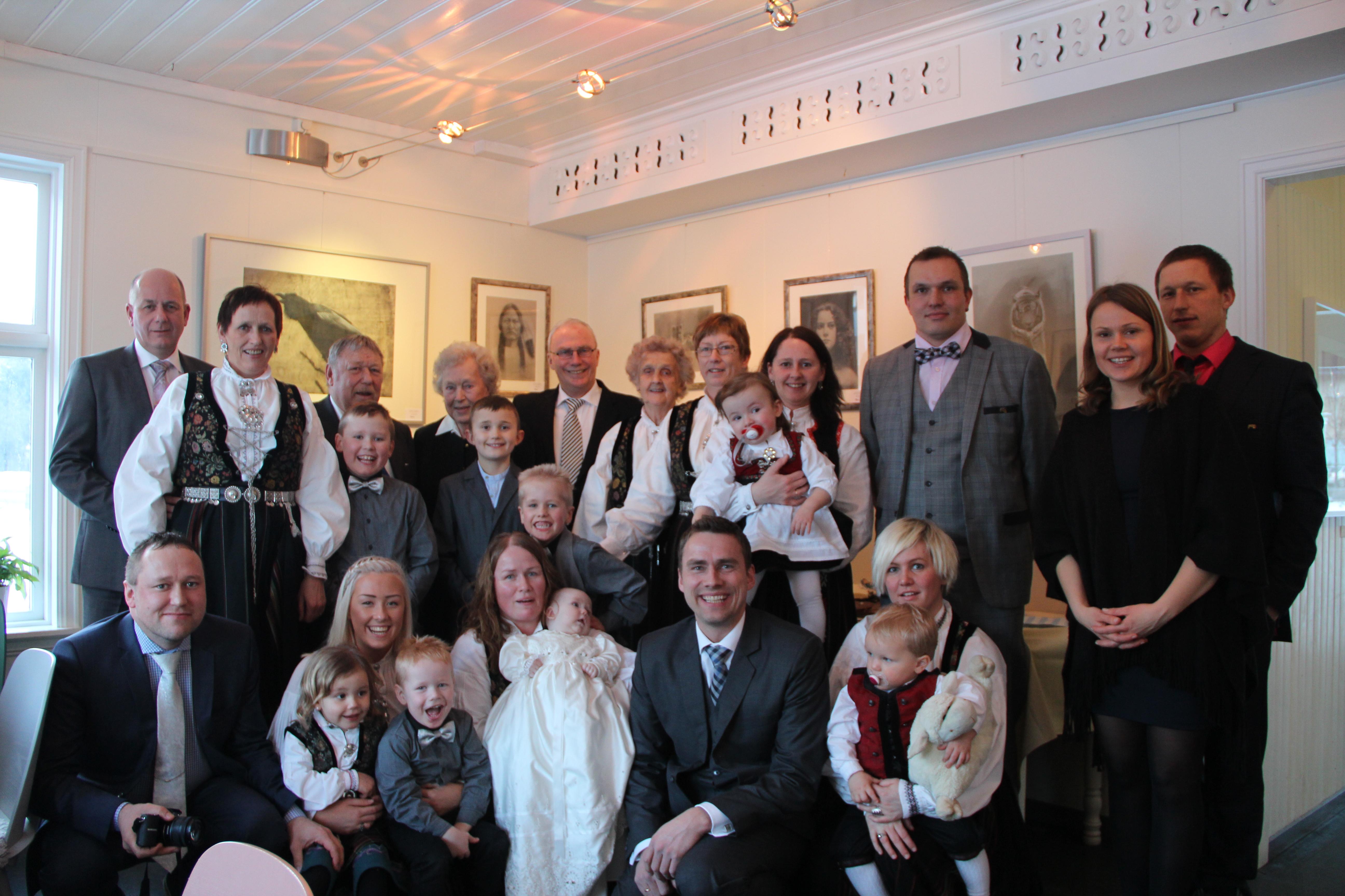 Mathias sin Dåpsdag 15.02.2015 på Kafe Krydder i Sogndal